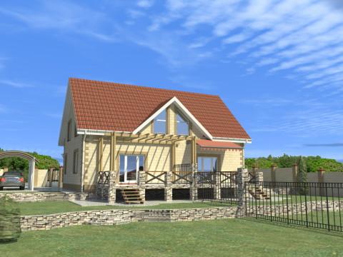 Дом на две семьи в Белгородской области