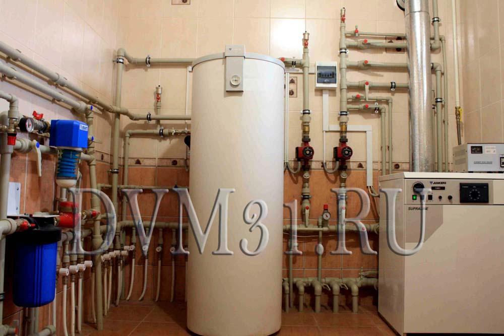 Какую схему системы отопления