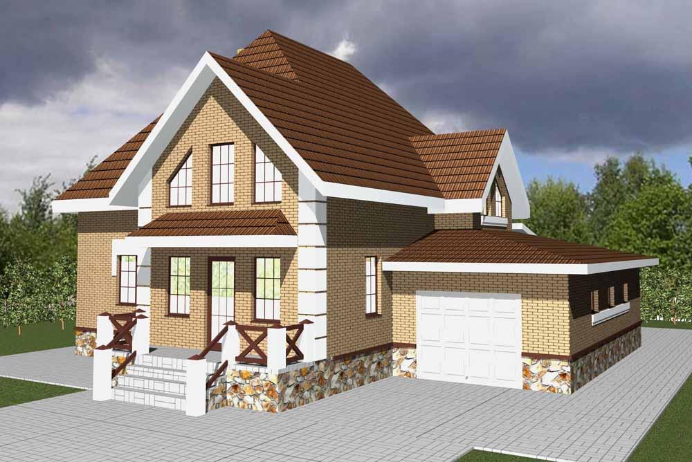 Проектирование частных домов в