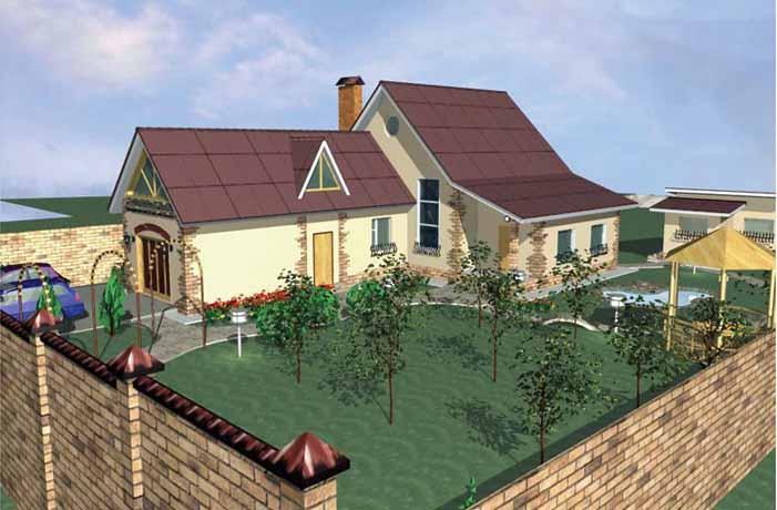 Проектирование частных домов в Белгородской области2