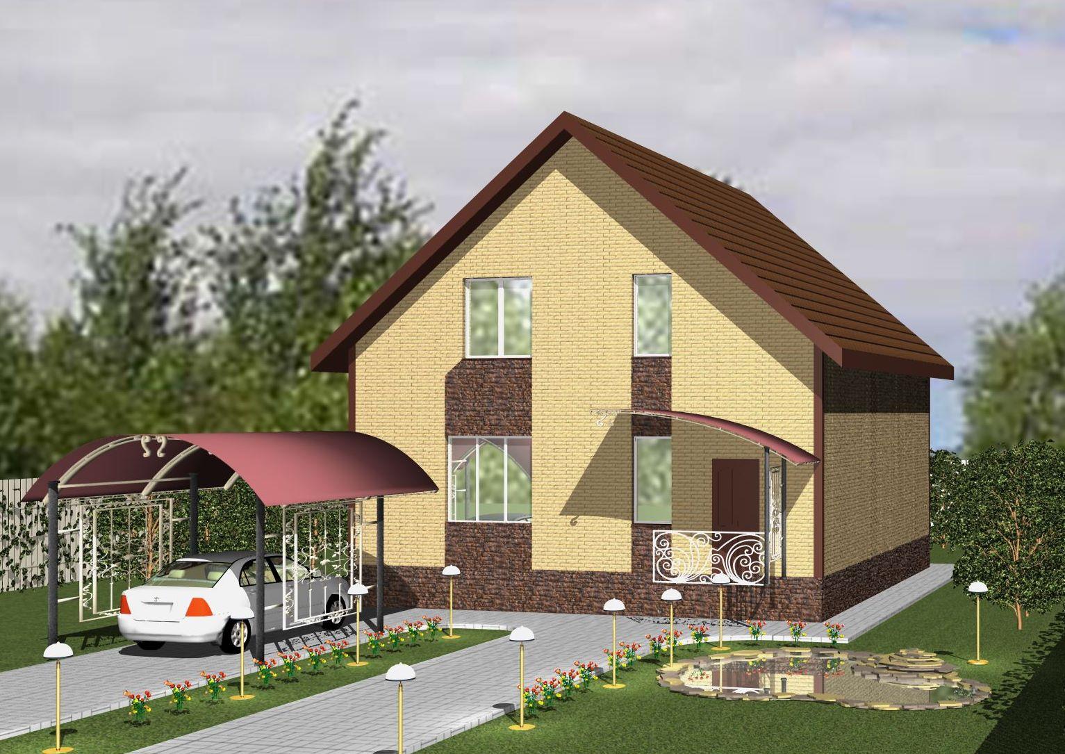 дом в городе Строитель