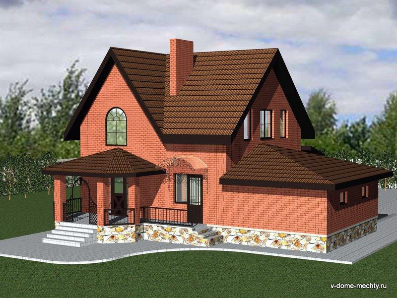 Проект дома в Белгороде M152-4k-gЗФ