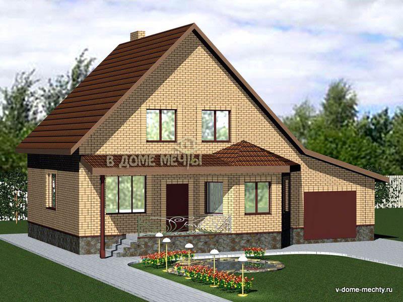 Проект дома в Белгороде из кирпича