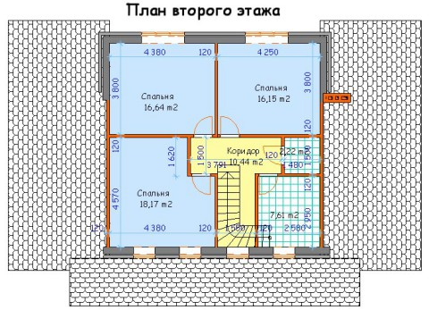 Дом на две семьи 2 этаж