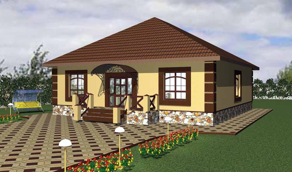 Проектирование частных домов в Белгородской области4