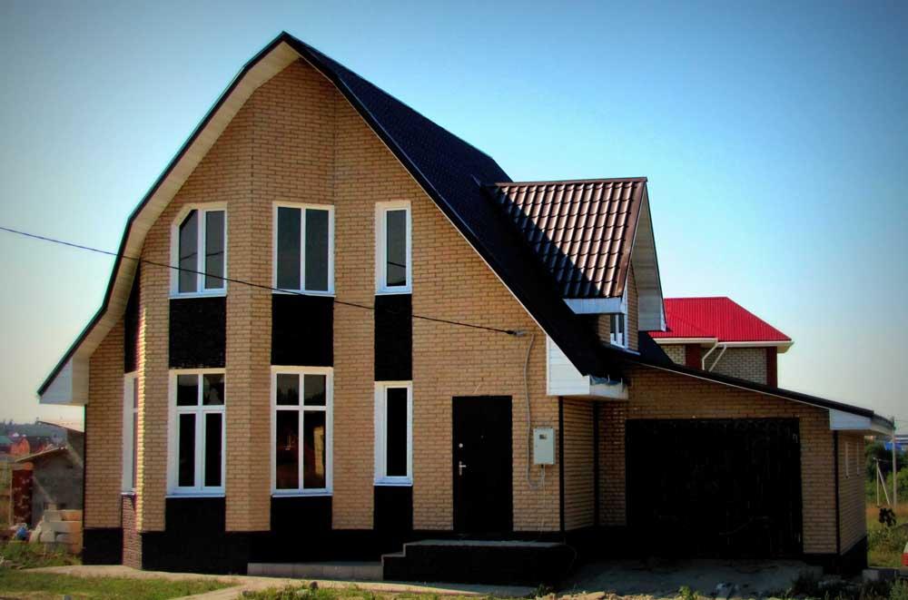 дом из газосиликатных блоков в Белгороде
