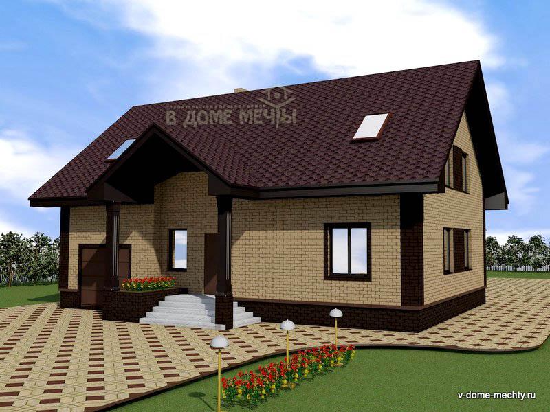 Проект дома в Белгороде m