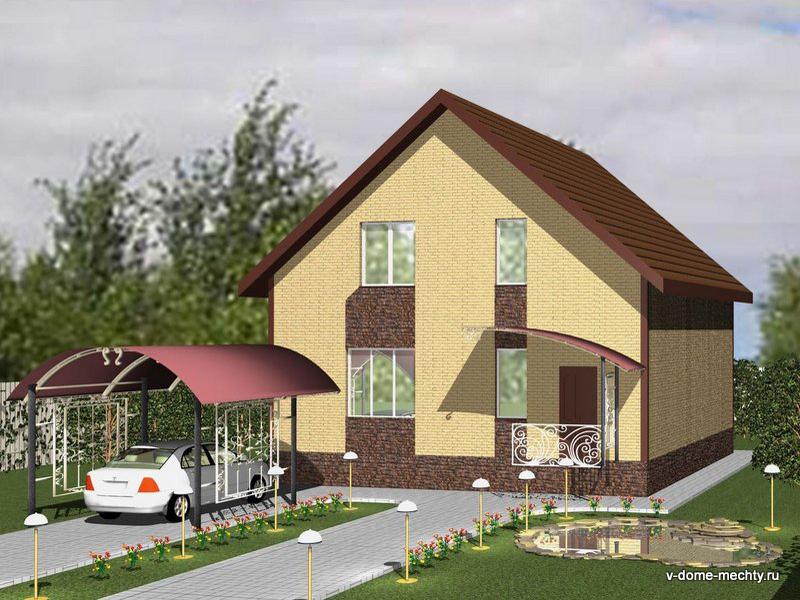 дом в городе Строитель min